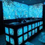 Hotel in Duitsland voorzien van Textiel LED framen