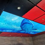 Prolutix LED textiel fotoplafond - Geïnstalleerd in Urk.